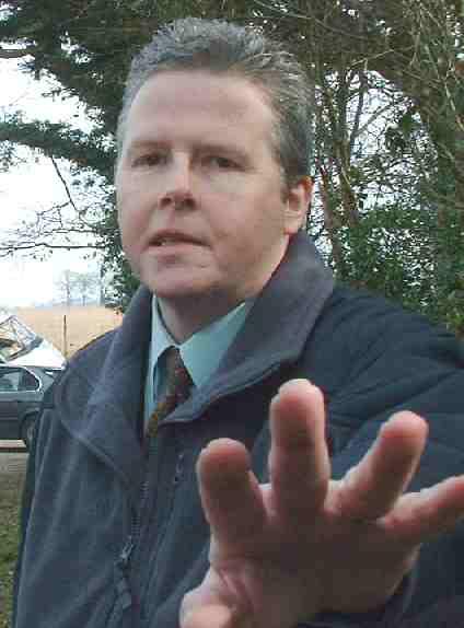 David Whibley, enforcement officer Wealden District Council