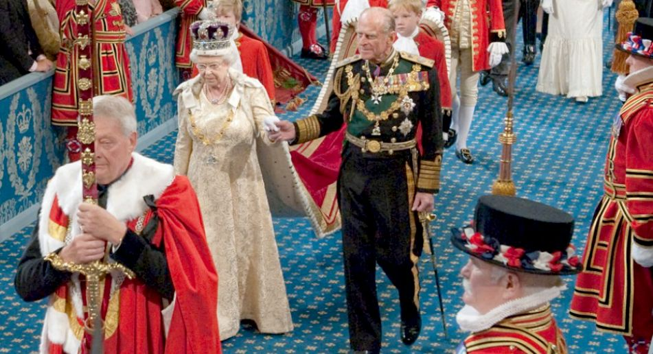 HRH Queen Elizabeth and Prince Phillip