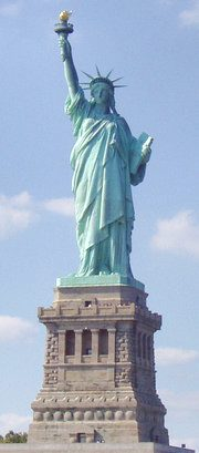 The Statue of Liberty was a centennial gift to the United States from France