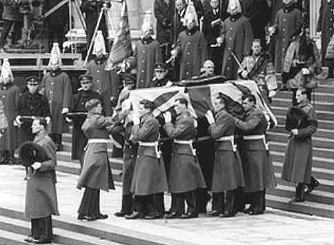 The State Funeral of Sir Winston Churchill 1965