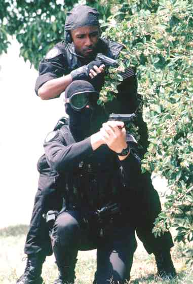 SWAT special tactical unit 60th security police squadron
