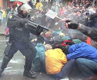 Police riot control law and order civil unrest