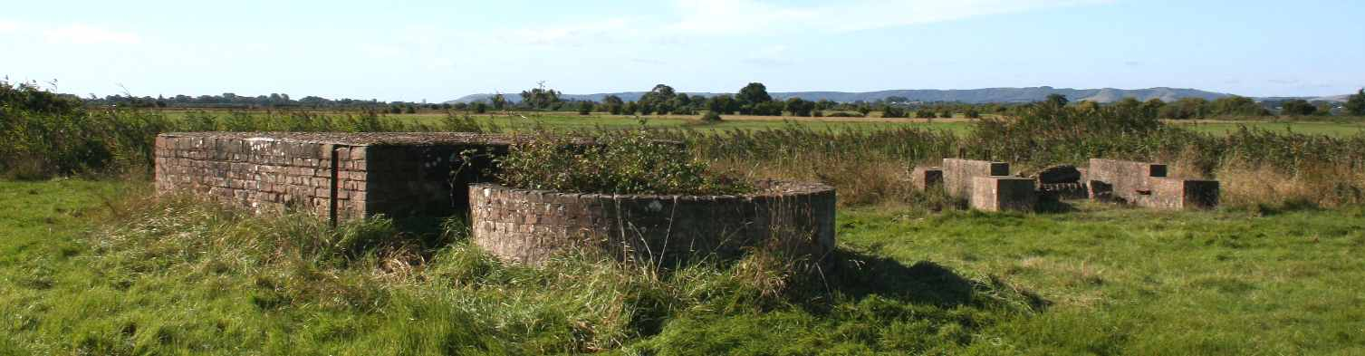 World War Two gun emplacements at Pevensey Levels