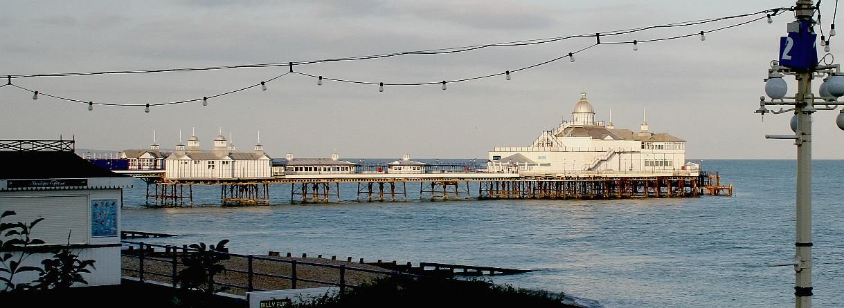 Eastbourne pier is a monument at risk as of September 2015